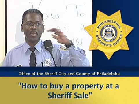 How to Buy a Property at Sheriff's Sale (English Version)