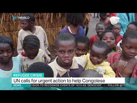 DRC refugees: Interview - Kimberly Bennett Norwegian Refugee Council