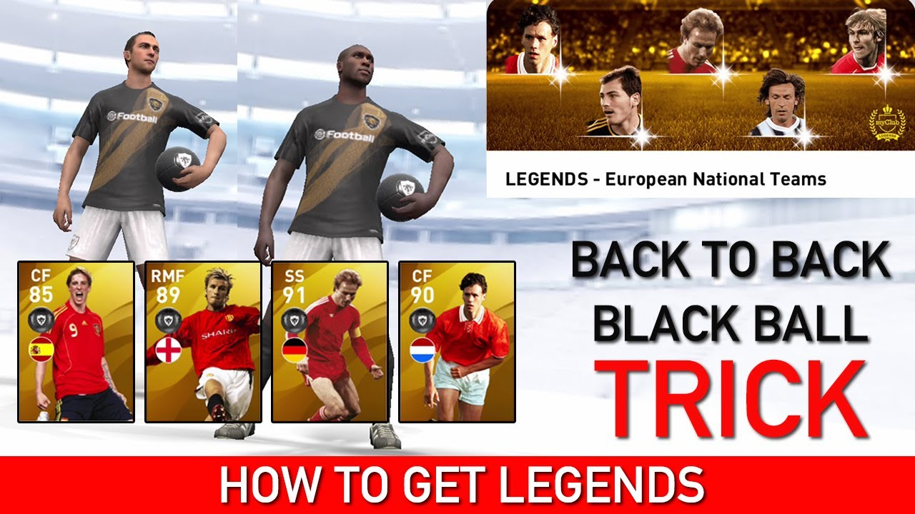 How To Get Legends From European Legends National Teams Box Draw | Pes 2020 Mobile