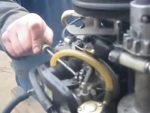 доработанный лодочный мотор Ветерок8 замена карбюратора видео 3 .