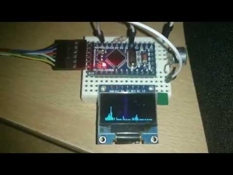 Arduino Fft Spectrum Analyzer