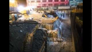 Hurricane Sandy Floods WTC Ground Zero Site in NYC and More - PICTURES - 10/29/12