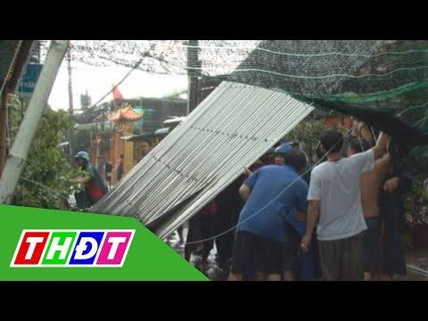 Giông Lốc Làm Sập Nhiều Căn Nhà ở Hồng Ngự, Chiều Ngày 16/7/2019 | THDT