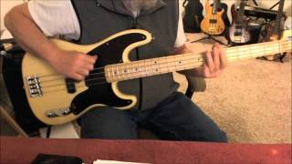 Def Leppard - Let It Go -  Bass Cover