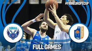 Donar Groningen (NED) v Mornar Bar (MNE) - Quarter-Finals - Full Game - FIBA Europe Cup 2017-18