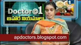 Diet for Obesity - Dr.Sri Lakshmi (Dietician) 1 of 3