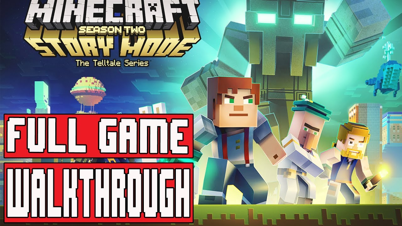 Minecraft Story Mode Season 2 Episode 1 Gameplay Walkthrough Part