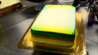 Japanese Cartoon Cake Making Process