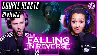 "COUPLE REACTS - Falling In Reverse ""Popular Monster"" - REACTION / REVIEW"
