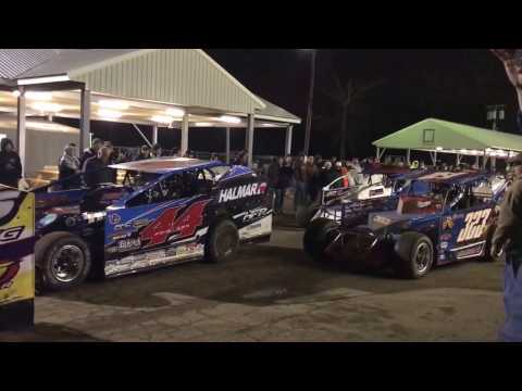 Bridgeport speedway Big Block Modified's 60 over special 3/25/17