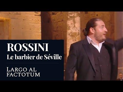 "ROSSINI : The Barber Of Seville ""Largo Al Factotum"" (Sempey) [Live] [HD]"