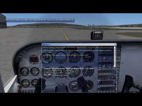 FSX LEARNING CENTER Private Pilot Lesson 5: Air Traffic Control 自家用操縦士 レッスン 5: ATC (航空交通管制)