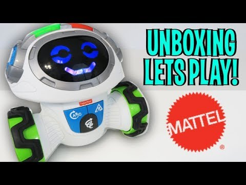 UNBOXING & LETS PLAY - Think & Learn Teach 'n Tag Movi Robot By Fisher-Price (FULL REVIEW!)