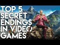 Top 5 Secret Endings In Video Games