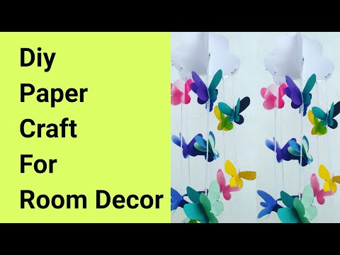 diy-paper-craft//paper-craft-ideas-for-room-decoration