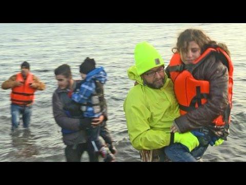"""Flüchtlings-Helfer auf Lesbos: """"Es ist eine Schande"""""""