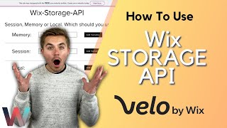 How To Use Wix Storage API in Velo by Wix | Wix.com Tutorial