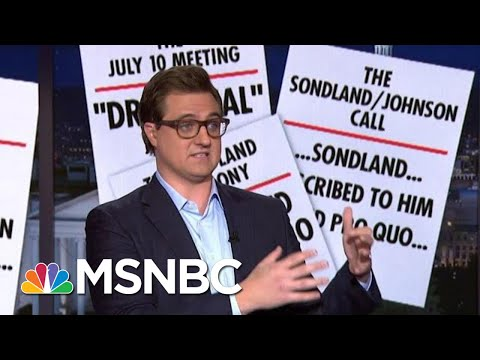 Chris Hayes Presents 9 Pieces Of Evidence Of Quid Pro Quo | All In | MSNBC