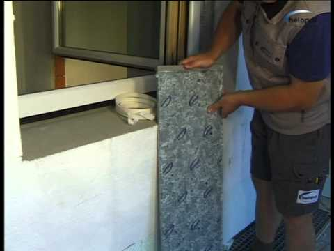 montagevideo helopal aussenfensterbank mit 2k montageschaum - youtube,