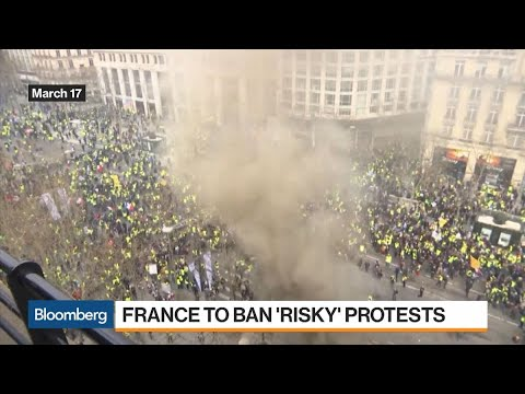 France to Ban 'Risky' Protests in Yellow Vest Crack Down