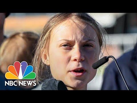Greta Thunberg Blasts World Leaders' Inaction On Climate Change | NBC News