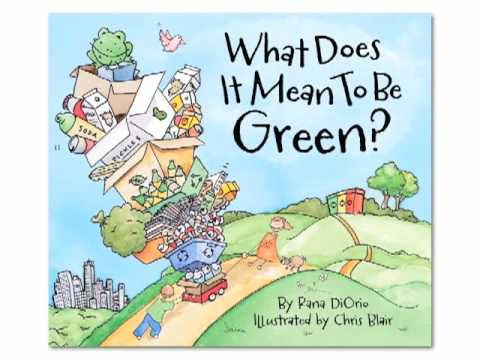 green kids activities book recycling what does it mean to be green youtube