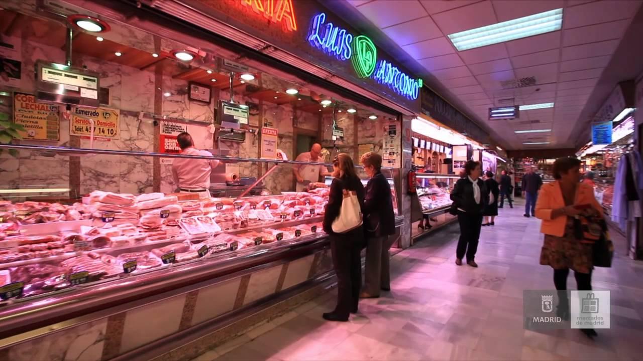 Mercados de madrid mercado de chamart n youtube - Carniceria en madrid ...