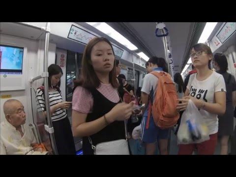 Shenzhen (China) 4K |  Xiaomi Yi 4K | Feiyu Gimbal G4S