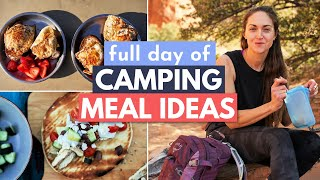 Delicious and EASY F๐od for Camping (What I Eat in a Day Camping)