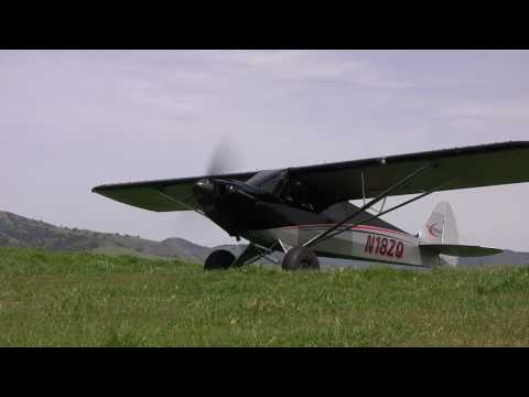 Short hill top Take off in the Carbon Cub SS