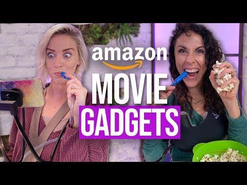 8 Weird Products to Upgrade Movie Night! (Beauty Break)