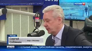 Смотреть видео Заявление мэра Москвы Сергея Собянина о реновации онлайн