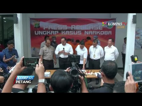 Polisi Ungkap Peredaran Cairan Rokok Elektrik Narkoba Mp3