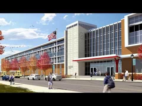 Allentown Elementary School - Interior Animation