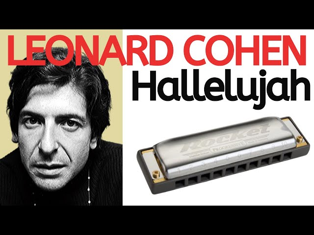 Hallelujah' by Leonard Cohen - C harmonica les... - With Loop ...