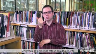 Modalités de prêt et retour des documents (pour personnes sourdes et malentendantes)