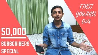 My First YouTube Q&A - 50,000 Subscribers Special   TechRunsGadgets