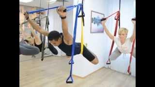 RamYoga - Fly Yoga - Киев - Флай йога(Fly yoga Studio .Флай-йога – сегодня это самый модный и необычный способ изучать йогу. Made in Broadway. Йога, завоевавшая..., 2015-09-10T10:52:04.000Z)