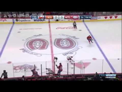 New York Islanders Vs Montreal Canadiens. January 17th 2015. (HD)