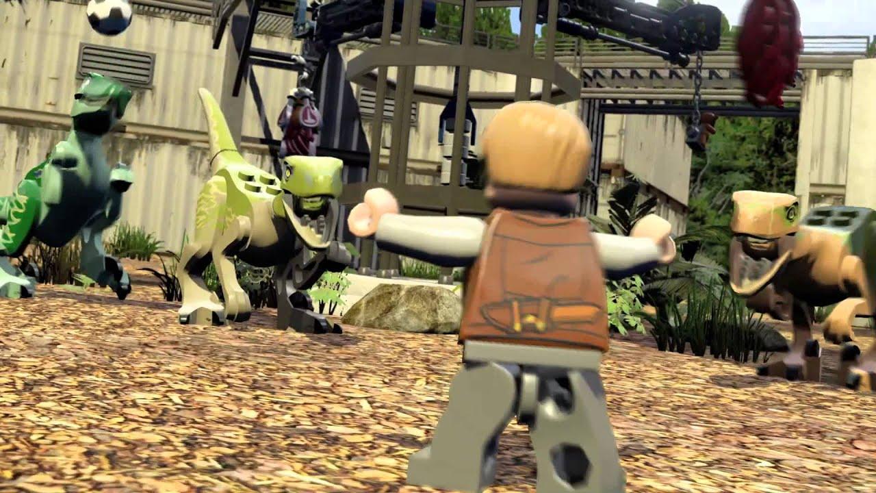 Lego jurassic world trailer vip tour del parco youtube