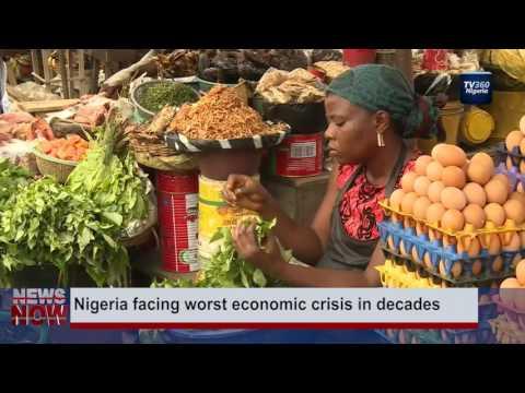 Nigeria's economy continues to decline