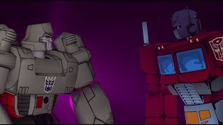 Optimus Prime Vs Megatron - Transformers Fight Scene SFM Animation