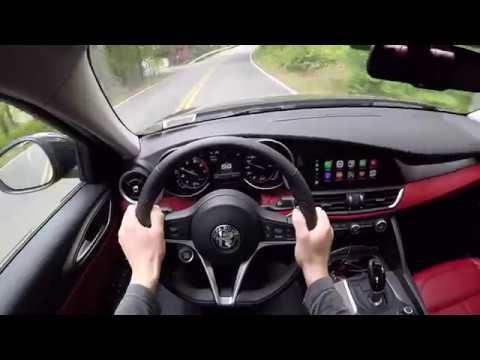 Alfa Romeo Giulia Sport Virtual Test Drive (POV Video)