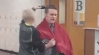Principal Shaves Head in Solidarity With Bullied Boy in Solidarity