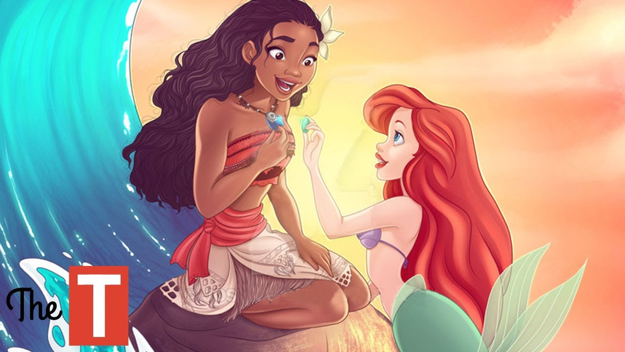 10 Disney Princess Connections That Will Make Your JAW ...