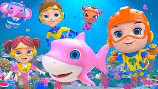 Baby Shark Song - Little Tritans | Kids Songs & Nursery Rhymes by Little Treehouse