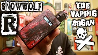 SnowWolf R | It's Back, With Resin! Sigelei/Lasimo | The Vaping Bogan