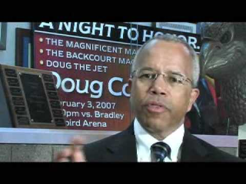 Will Robinson and Doug Collins Statue Dedication Video