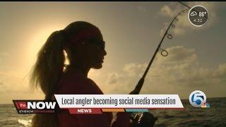 Local angler becoming social media sensation