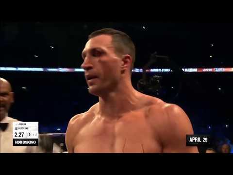 Джошуа избил Кличка . Бой 4 декабря 2019 года. Anthony Joshua vs  Wladimir Klitschko Highlights